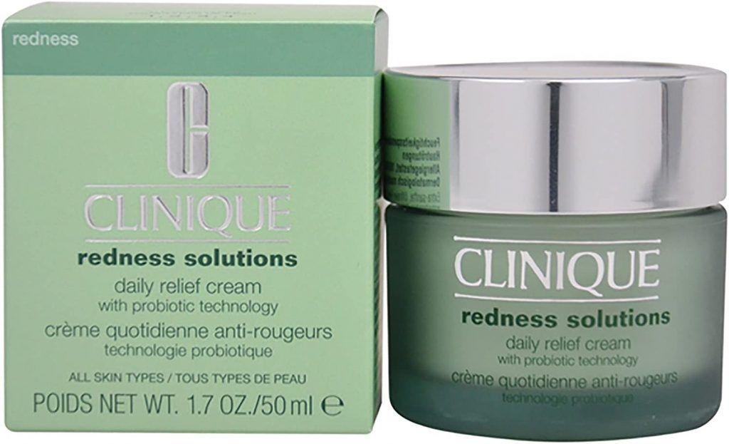 Crema de Clinique de la gama de pieles sensibles y cuidados Antirojeces