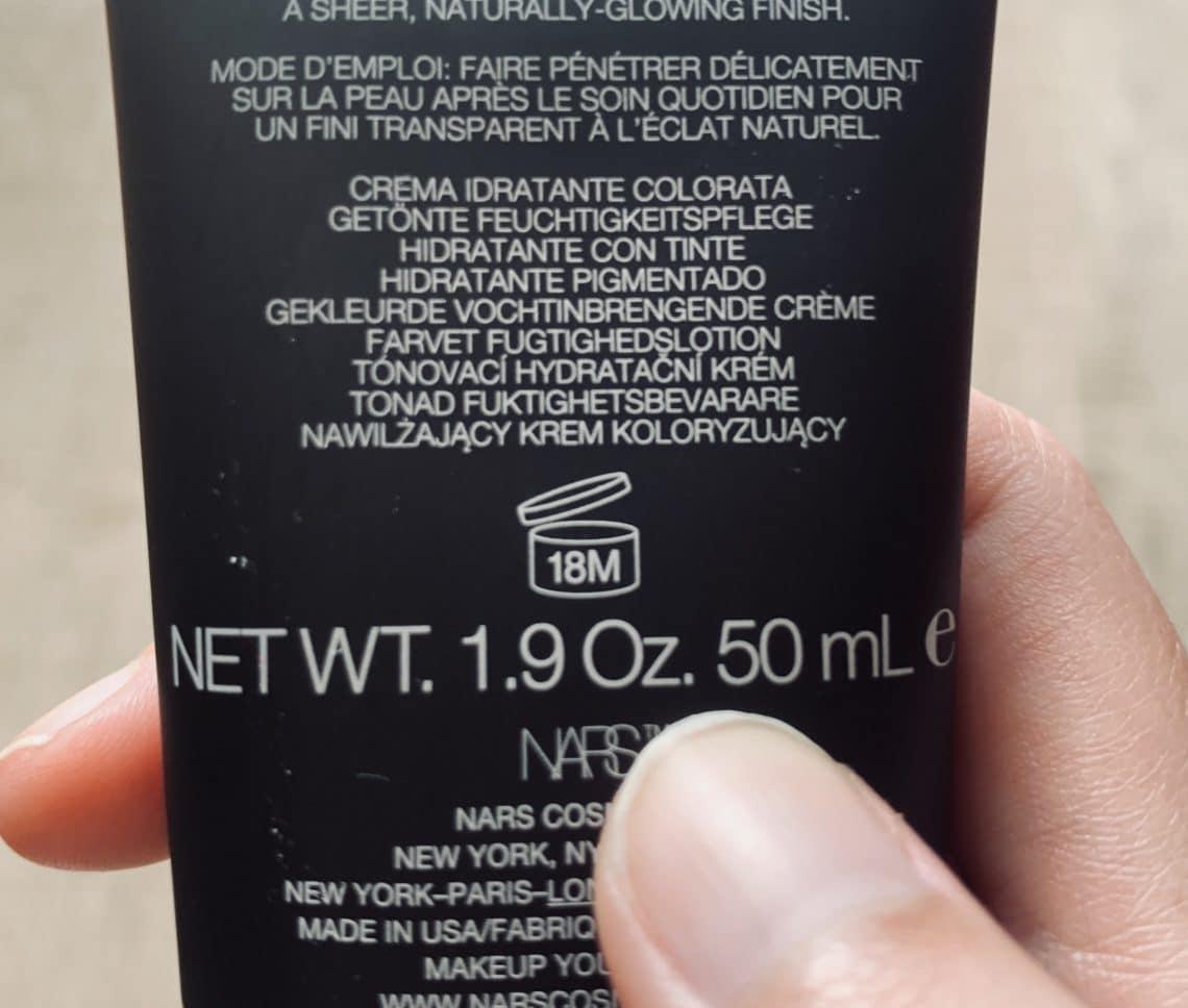 Fecha de caducidad producto cosmético