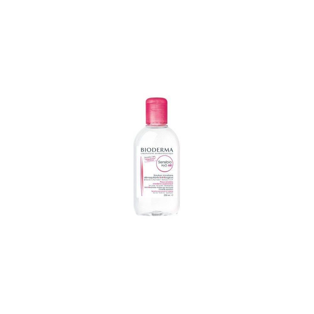 Agua micelar de Bioderma para pieles sensibles y con rosácea AR.