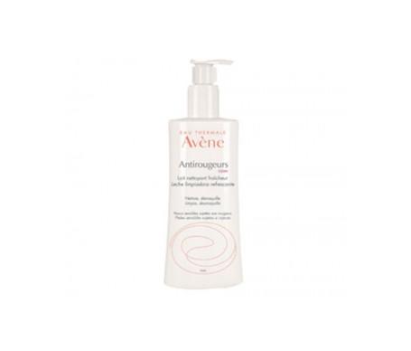 Bote de leche limpiadora Antirojeces de la marca Avène, ideal para pieles con rosácea