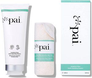 Limpiador con muselina de Pai Skincare, ideal para pieles sensibles y con rosácea